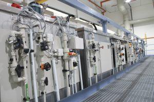 Automated Chemical Surface Treatment Plant