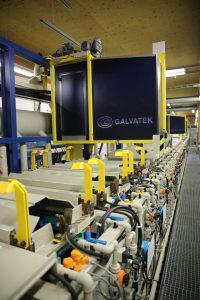 Ouneva aluminum tin plating line supplied by Galvatek