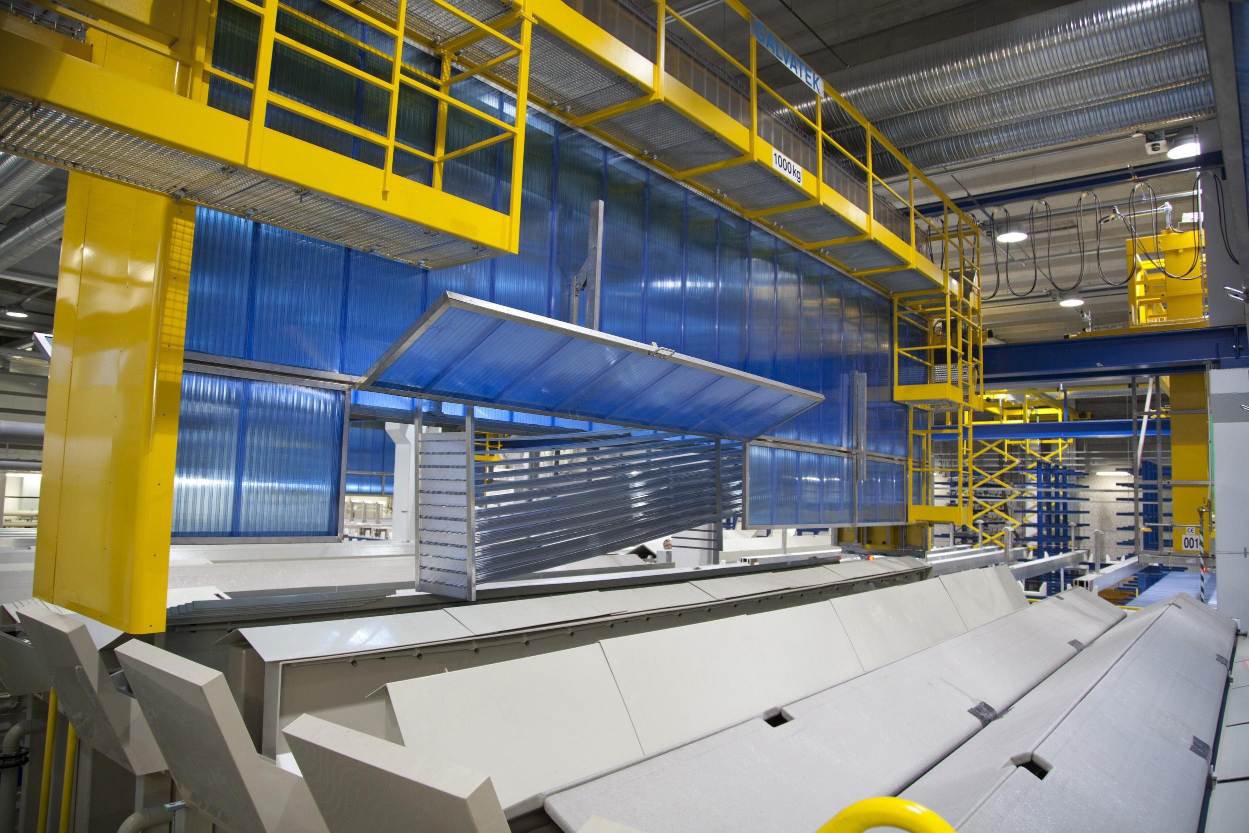 What Is Aluminum Made Of >> Automated Aluminium Anodizing Plants - Galvatek