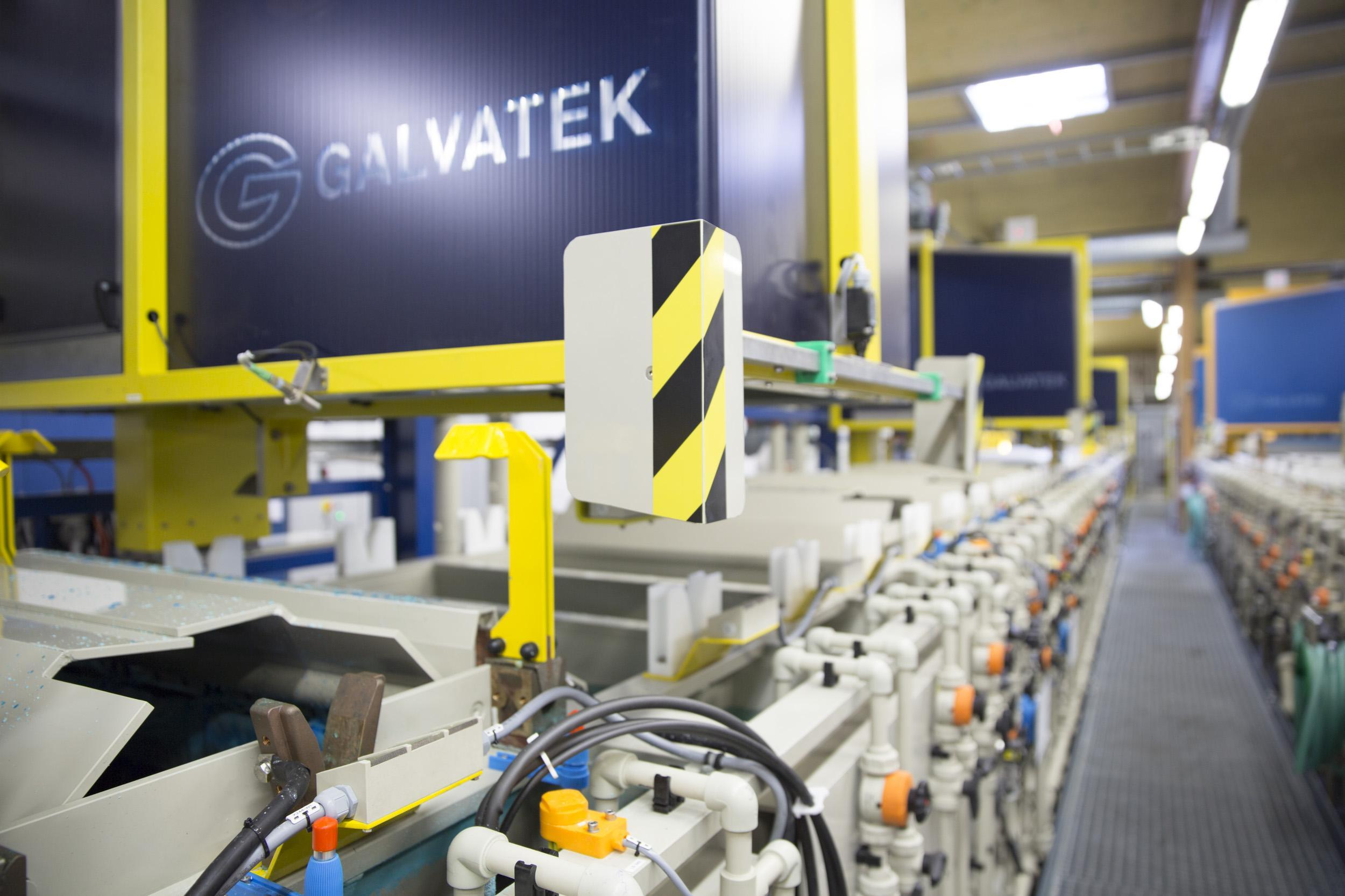 Automated Electroplating and Coating Plants - Galvatek