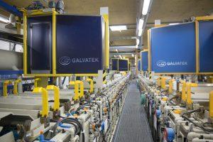 Galvatek electroplating and electrocoating plants for aviation maintenance, repair and overhaul