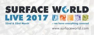 Surface World live 2017 in 22-23 March, www.surfaceworld.com