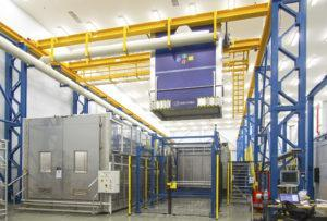 Chemical Cleaning Lines for aviation industry