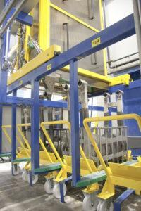 Fully Automated Die Tool Cleaning Lines for aluminium extrusion industry